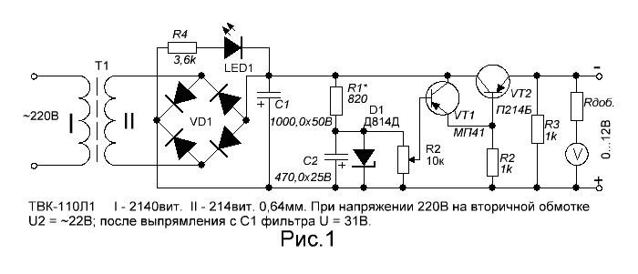 Электрическая схема платы типа видео слот