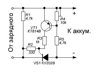 устройство транзистора схема