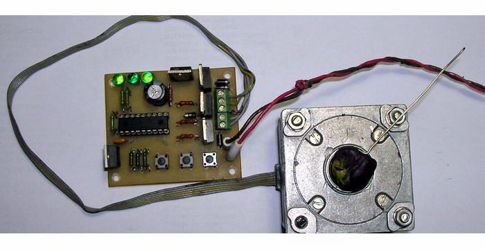Контроллер для шагового двигателя своими руками