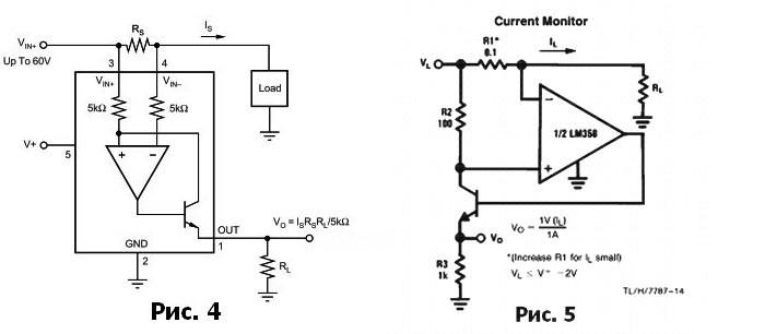 Измерение тока нагрузки